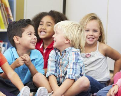 Inglés al salir de clase para niños